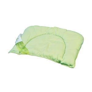 Zielona poduszka dziecięca z bambusowymi włóknami Nature Kids Green Future, 35x50cm