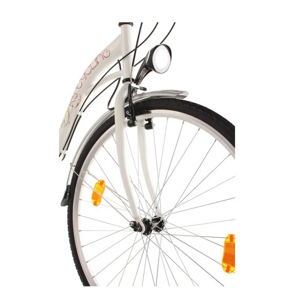 Damski rower City Bike Eden White, 28""