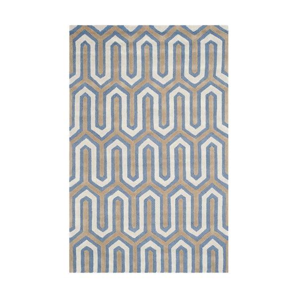 Dywan Leta 121x182 cm, niebieski