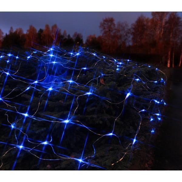Świecąca siatka Light Network Blue/Black, 3 m