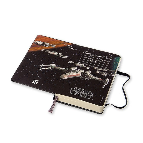 Notatnik dzienny Moleskine Stars Wars, 9x14 cm