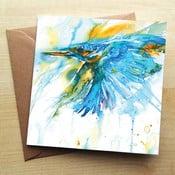 Kartka okolicznościowa Wraptious As Kingfishers Catch Fire