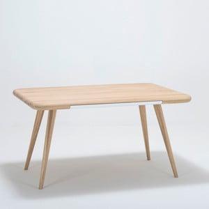 Stół z drewna dębowego Gazzda Ena One, 140x100x75 cm