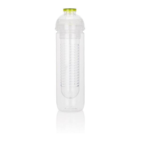 Zielona butelka z sitkiem na owoce XD Design Trita