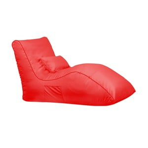 Czerwony worek do siedzenia Sit and Chill Palawan Chaise Longue
