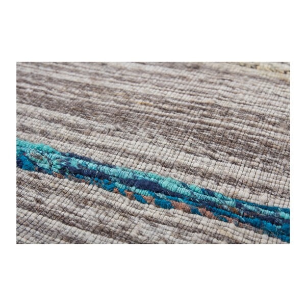Niebieski dywan Evita, 120x170cm