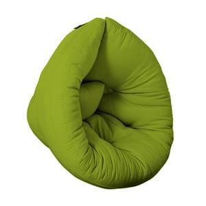 Fotel dziecięcy Karup Baby Nest Lime
