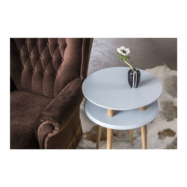 Różowy stolik Ragaba UFO, Ø 45 cm