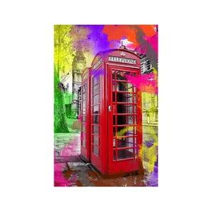 Obraz Budka telefoniczna, 45x70 cm
