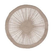 Brązowa serwetka na stół Côté Table Soleil Taupe, 38 cm