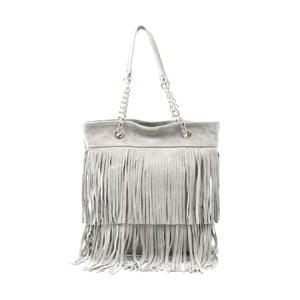 Skórzana torebka Marianne, szara
