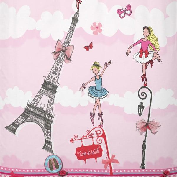 Pościel bawełniana Cinderella Ballerina Girl, 140x200 cm