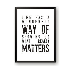 Plakat Nord & Co What Really Matters, 21 x 29 cm