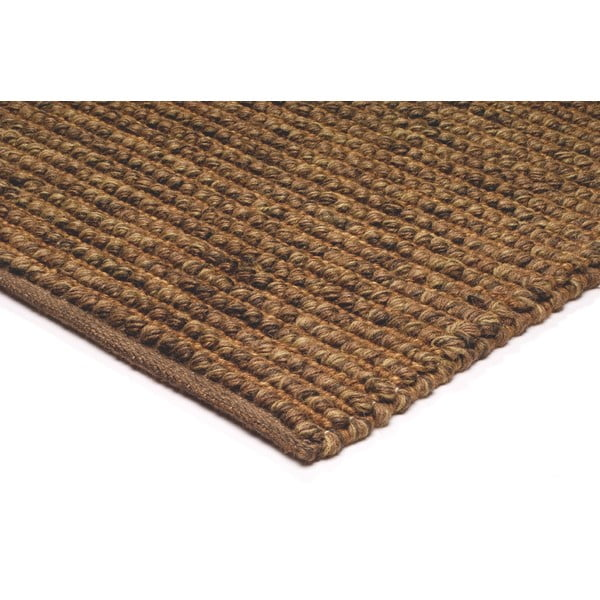 Jutowy dywan Jute Loop Brown, 160x230 cm