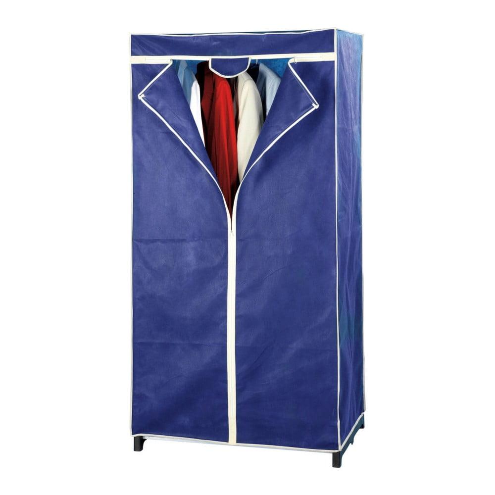 Niebieska składana szafa tekstylna Wenko Air
