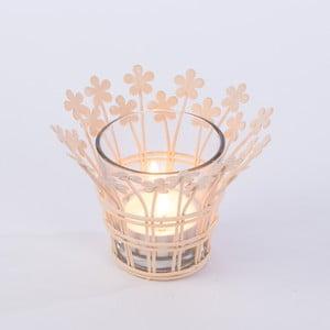 Świecznik Votive 12 cm, pudrowy