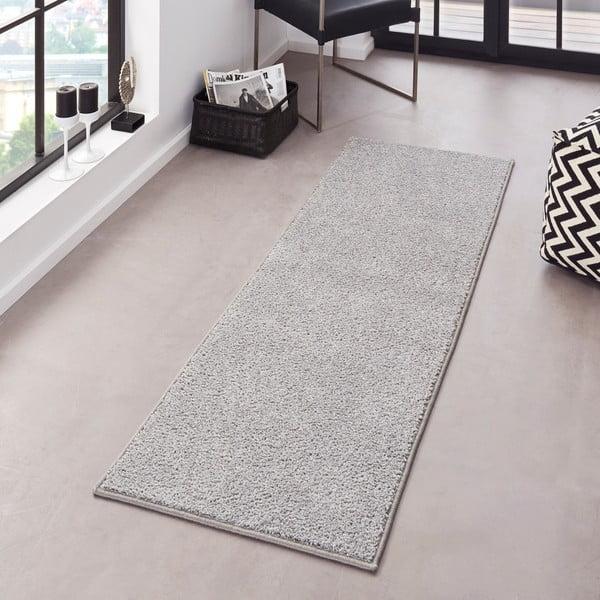Jasnoszary chodnik Hanse Home Pure, 80x300 cm