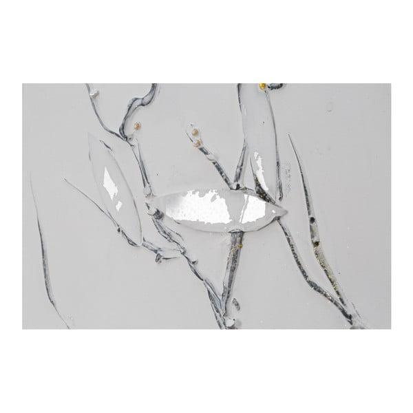 Ręcznie malowany obraz Mauro Ferretti Dipinto Su Tela Winter Tree, 50x150 cm