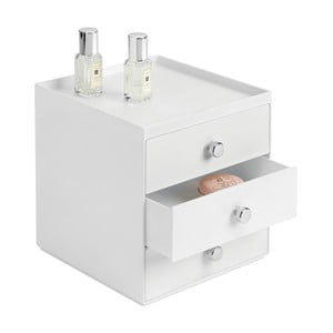 Organizer InterDesign 3 Drawers White