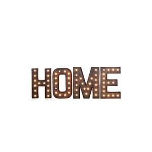 Świecący napis Home