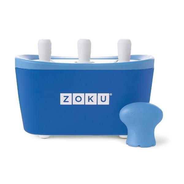 Niebieska maszynka do lodów Zoku Quick Pop