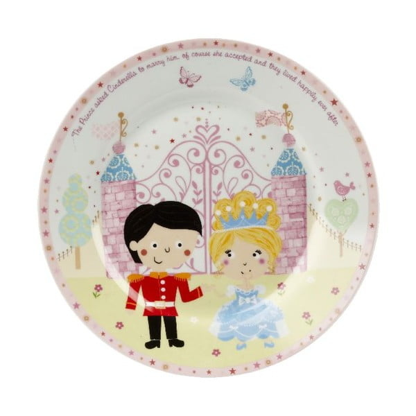 Zestaw naczyń dla dzieci Churchill China Cinderella, 4 szt.