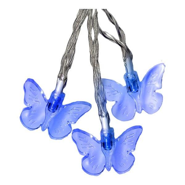 Girlanda świetlna Butterflies 280 cm, niebieska