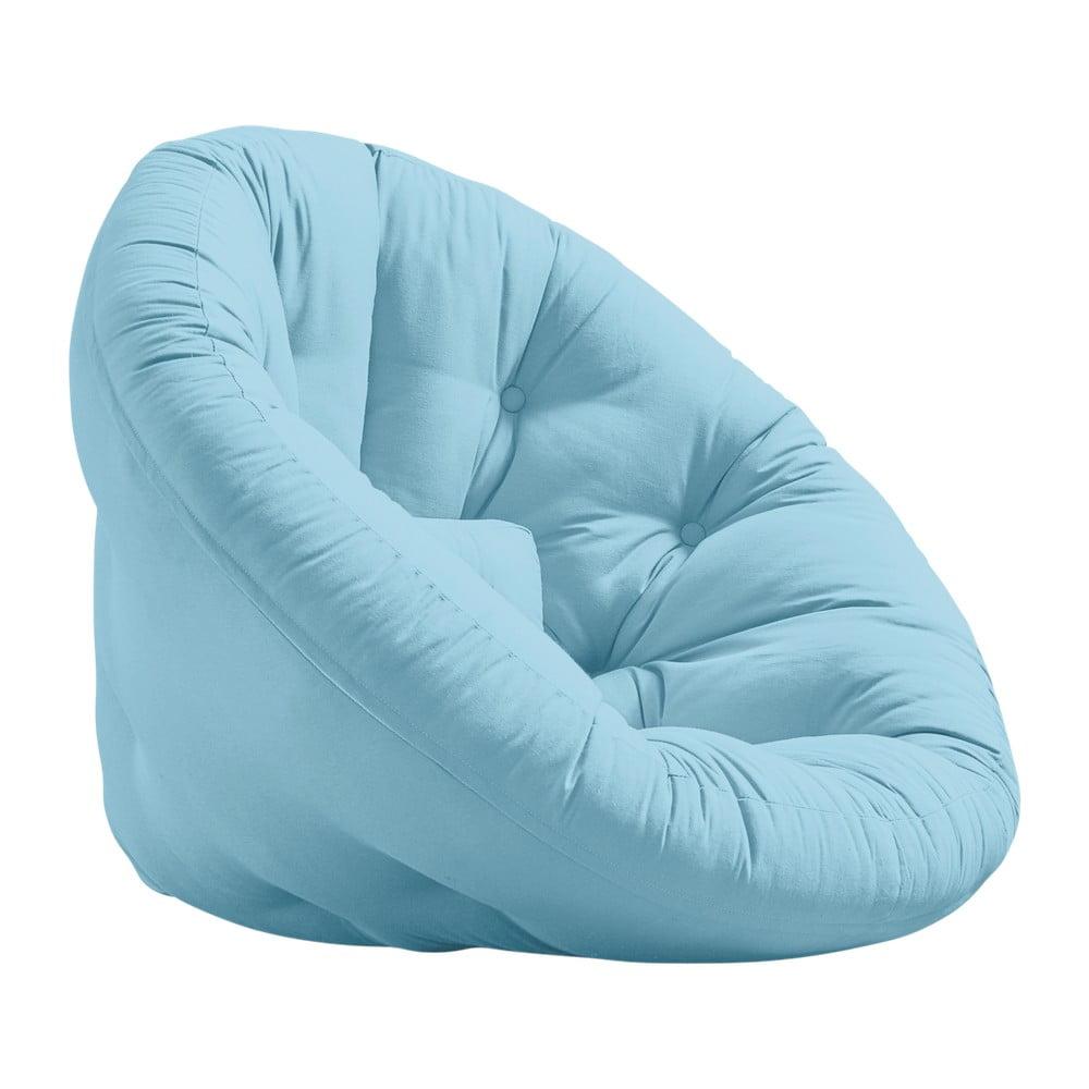 Fotel rozkładany Karup Design Nido Light Blue