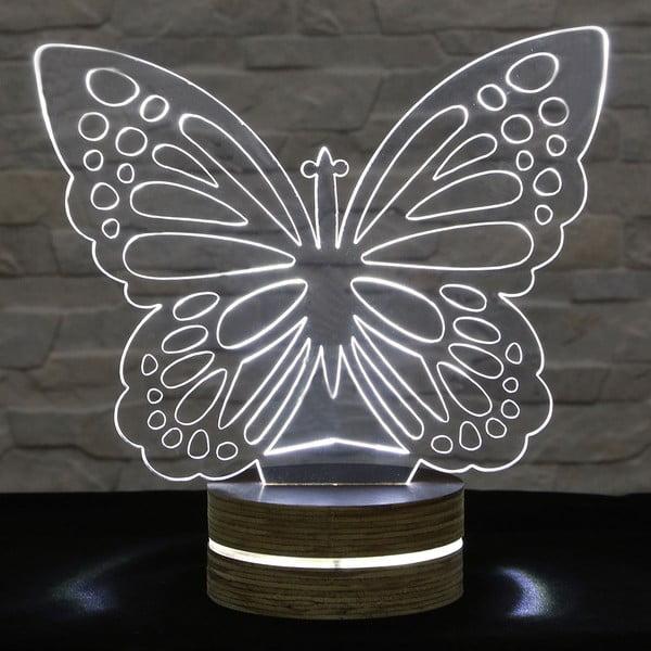 Lampa 3D stołowa Butterfly