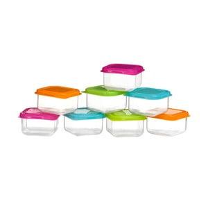 Zestaw 8 małych pojemników Premier Housewares