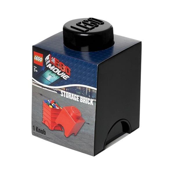 Czarny mały pojemnik LEGO®