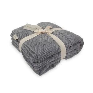 Koc Touta Dark Grey, 130x170 cm