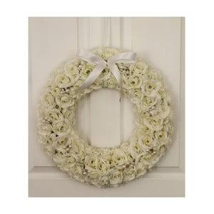 Wieniec ślubny z lampkami LED Pearl Wreath