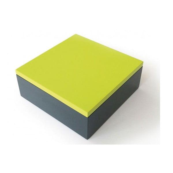 Pudełko drewniane Remember Green