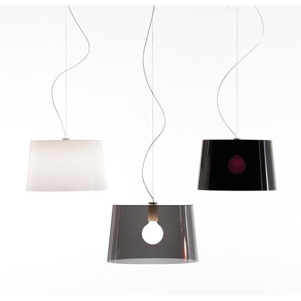 Lampa sufitowa Pedrali L001S/B, biała półprzeźroczysta