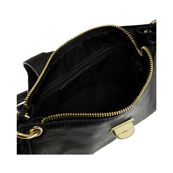 Kopertówka skórzana Giulia Massari 6688 Black