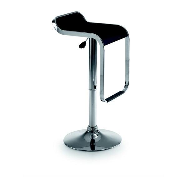 Krzesło barowe Las Vegas, czarne