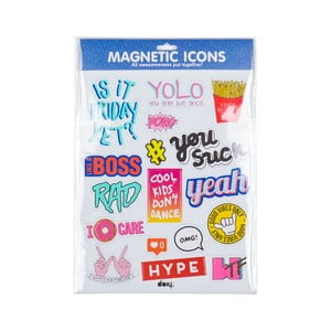Magnesy Icons Blue