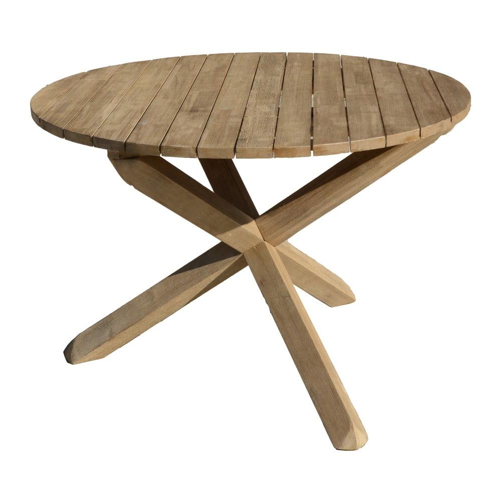 Stół ogrodowy z drewna akacjowego ADDU Melfort, ⌀ 110 cm
