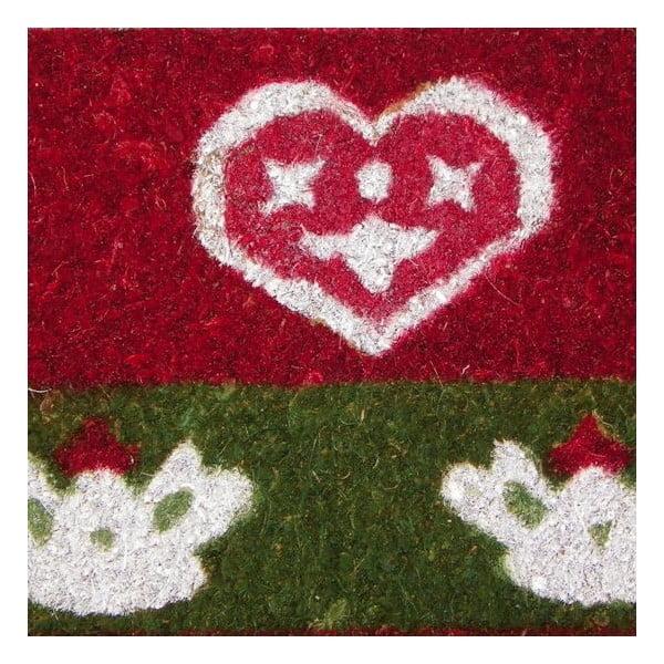 Wycieraczka Winter Heart & Crown, 73x45 cm