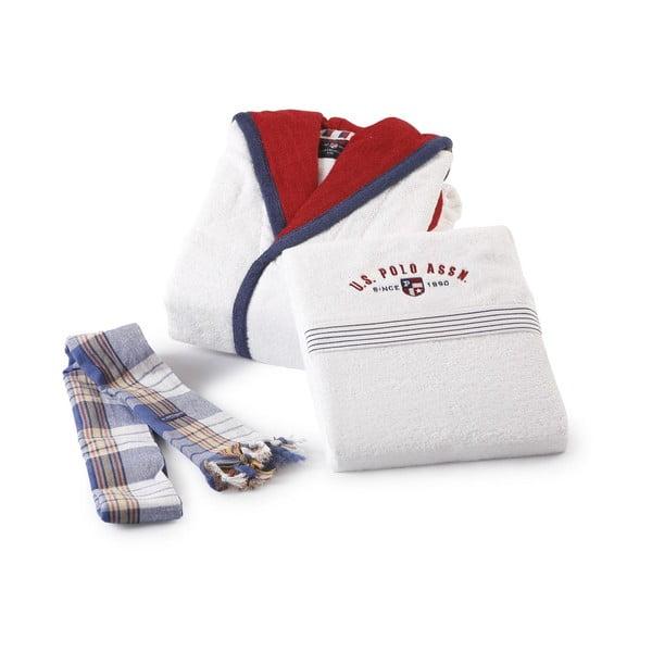 Komplet 2 szlafroków i 4 ręczników U.S. Polo Assn. Cincinnati