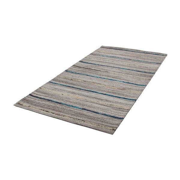 Niebieski dywan Evita, 80x150cm