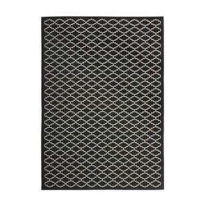 Dywan (również do użytku zewnętrznego) Gwen Black, 121x170 cm