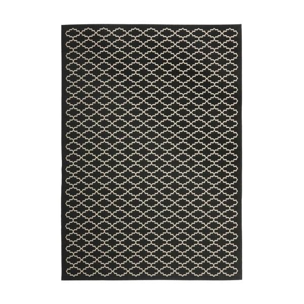 Dywan (również do użytku zewnętrznego) Gwen Black, 200x289 cm