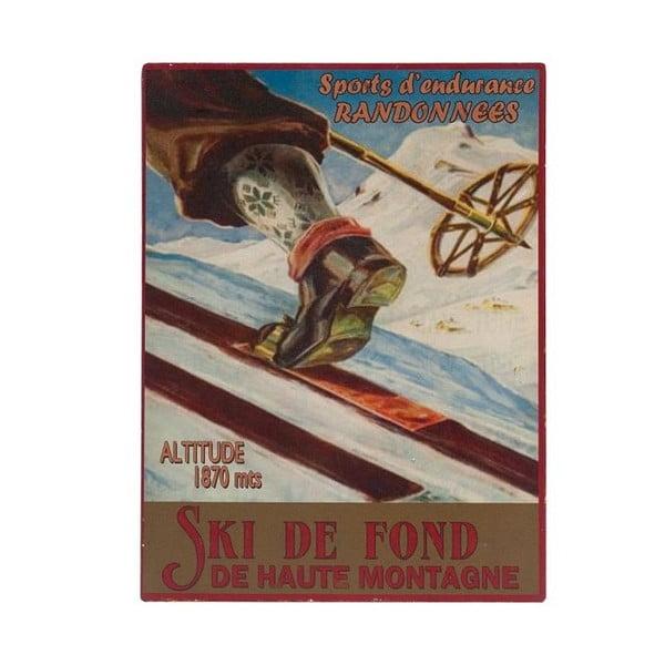Tablica Ski de Font, 25x33 cm