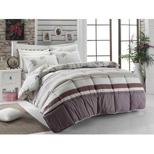 Narzuta pikowana na łóżko dwuosobowe Norberta, 195x215 cm