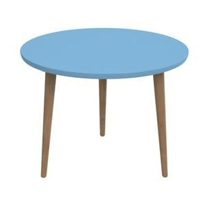 Stół D2 Bergen, 60 cm, niebieski