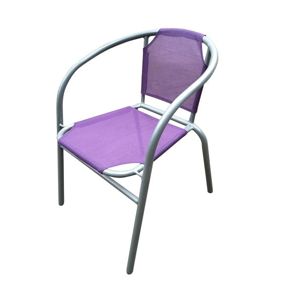 Fotel ogrodowy Texta, fioletowy