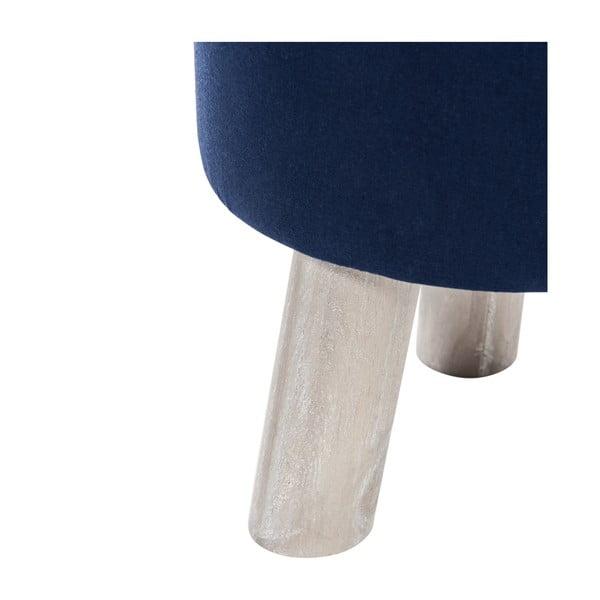 Taboret 3Leg, niebieski