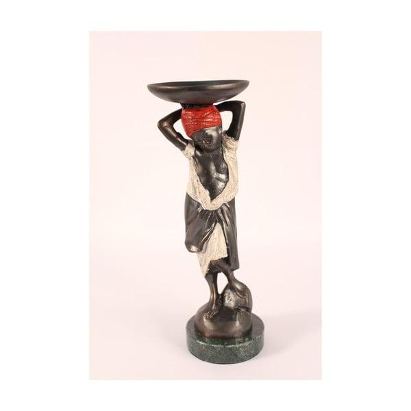Rzeźba z brązu Porteador